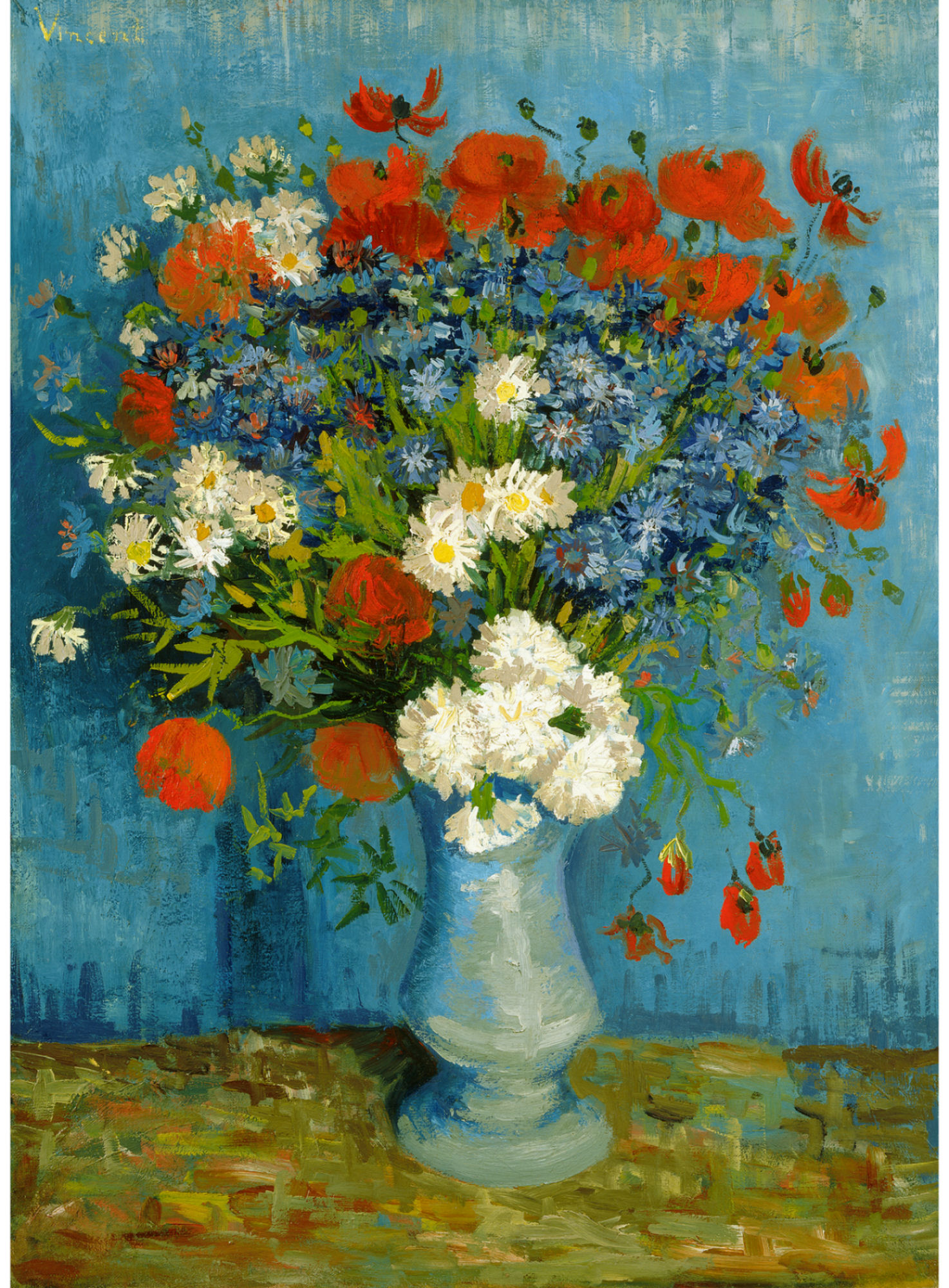 Deborah feller artist deborahfeller vase with cornflowers and poppies 1887 oil on canvas 31 x 26 80 x 67 cm triton foundation belgium reviewsmspy