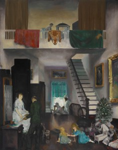 The Studio (1919, oil on canvas, 48