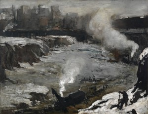 Pennsylvania Excavation (1907, oil on canvas, 33⅞