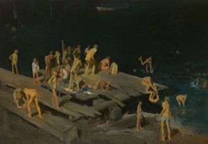 Forty-two Kids (1907, oil on canvas, 42¼