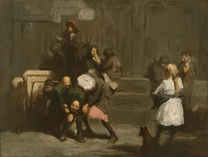 Kids (1906, oil on canvas, 32