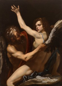 Orazio Riminaldi, Daedalus and Icarus (c. 1625, oil on canvas, 52
