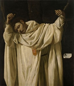 Francisco de Zurbarán, Saint Serapion (1628, oil on canvas, 475/16