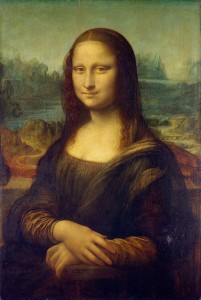 Leonardo da Vinci, Mona Lisa (1503-17, oil on poplar, 30