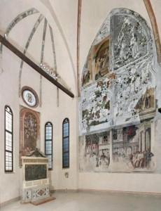 Andrea Mantegna, Ovetari Chapel, Padua (1447-1456, fresco).