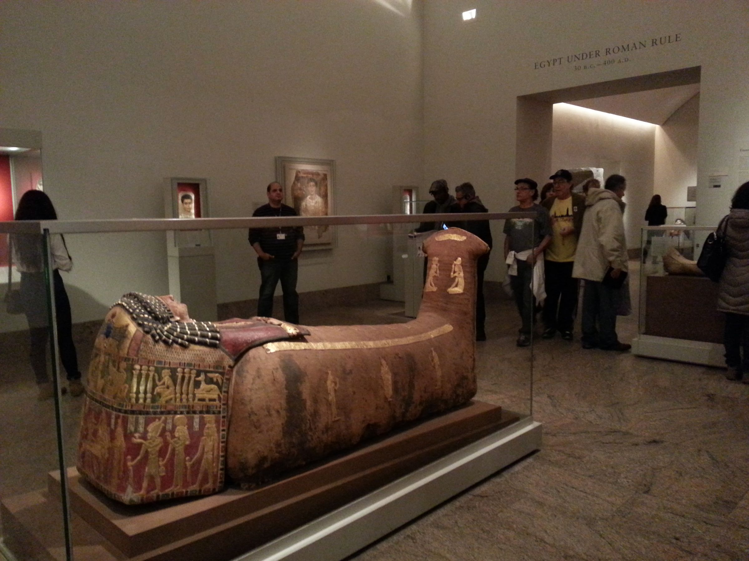 The gallery for metropolitan museum of art egyptian for Muralisme mexicain