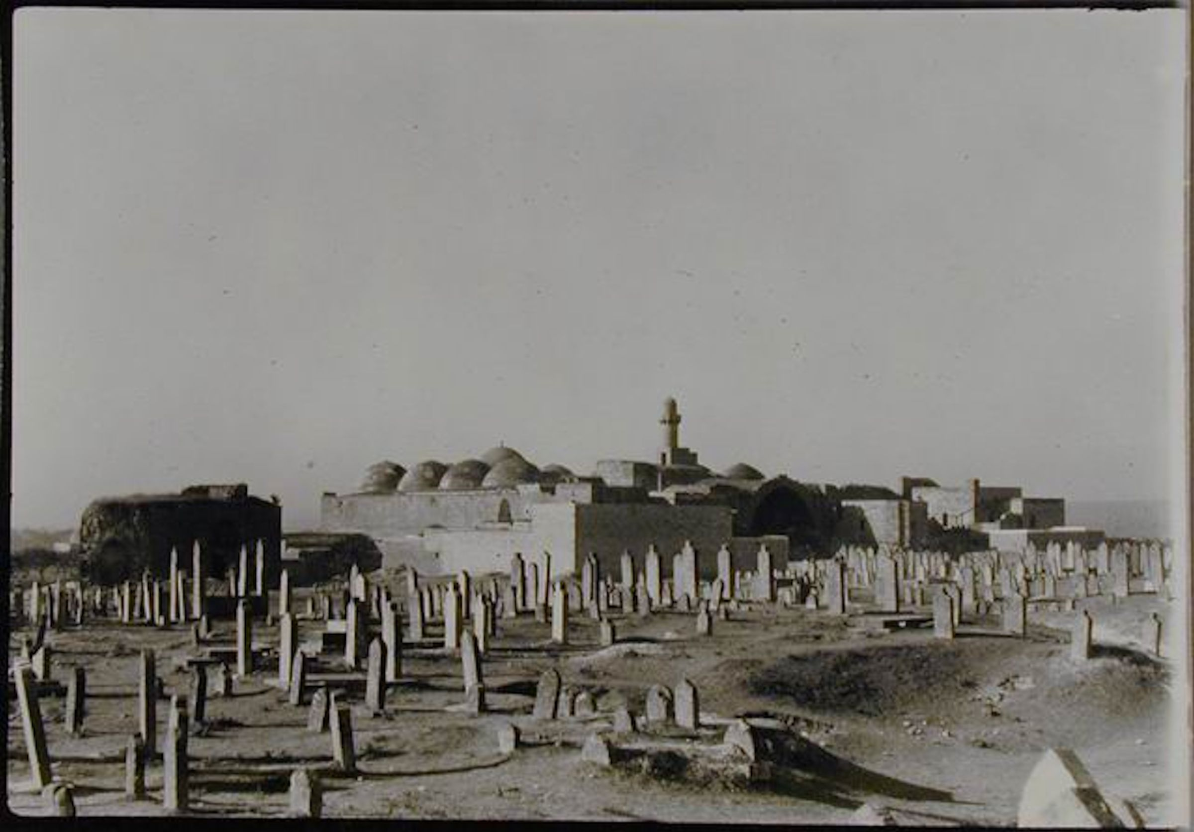 Deborah feller artist deborahfeller view of madrasa al firdaws from nearby cemetery photo creswell archive ashmolean fandeluxe Choice Image