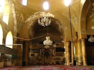 View of Church Apse, Madrasa al-Halawiyya, Aleppo, Syria. Photo taken no later than 2012.